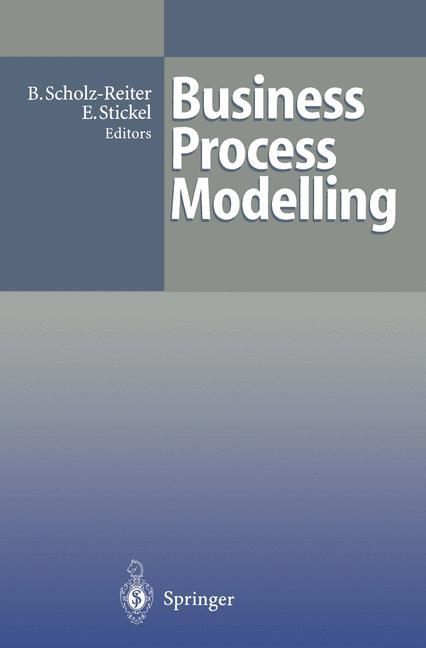 Cover of 'Business Process Modelling'
