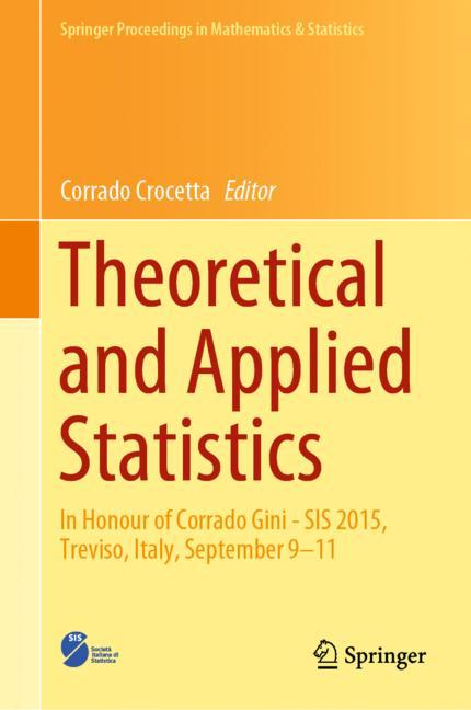 Cover of 'Theoretical and Applied Statistics'