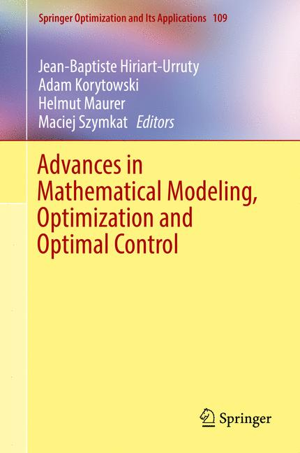 Cover of 'Advances in Mathematical Modeling, Optimization and Optimal Control'
