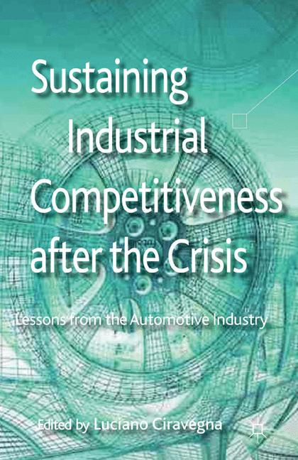 Cover of 'Sustaining Industrial Competitiveness after the Crisis'