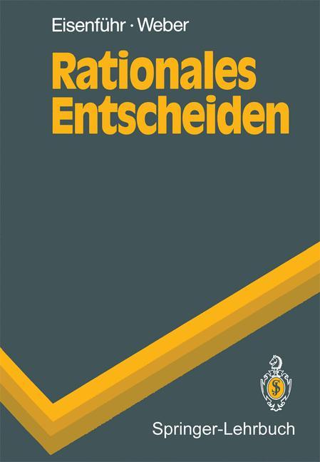 Cover of 'Rationales Entscheiden'