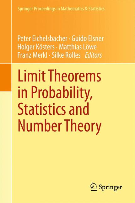 Cover of 'Limit Theorems in Probability, Statistics and Number Theory'