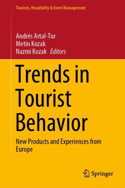 Cover of 'Trends in Tourist Behavior'
