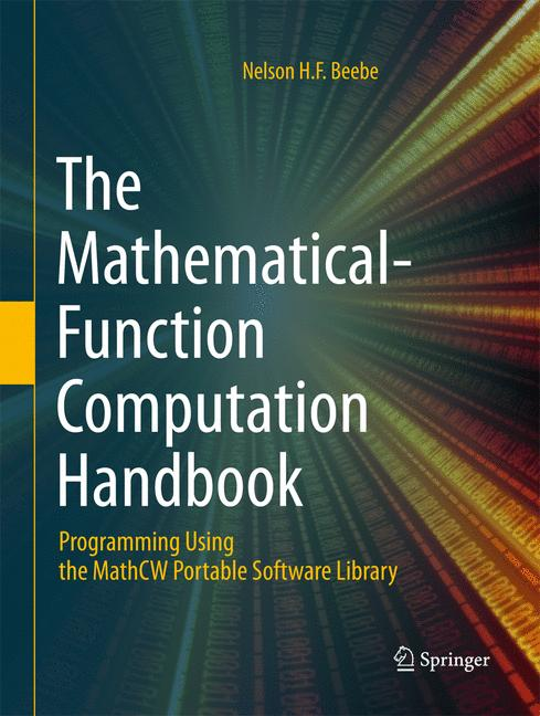 Cover of 'The Mathematical-Function Computation Handbook'