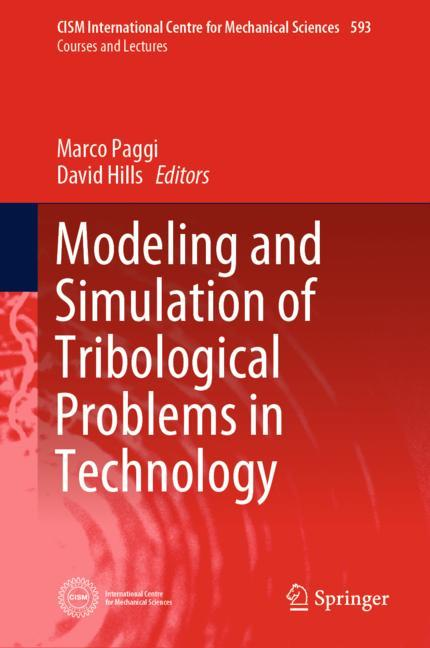Cover of 'Modeling and Simulation of Tribological Problems in Technology'