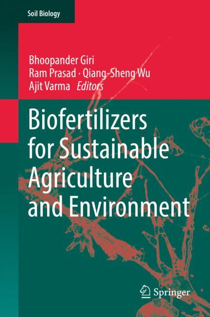 Cover of 'Biofertilizers for Sustainable Agriculture and Environment'
