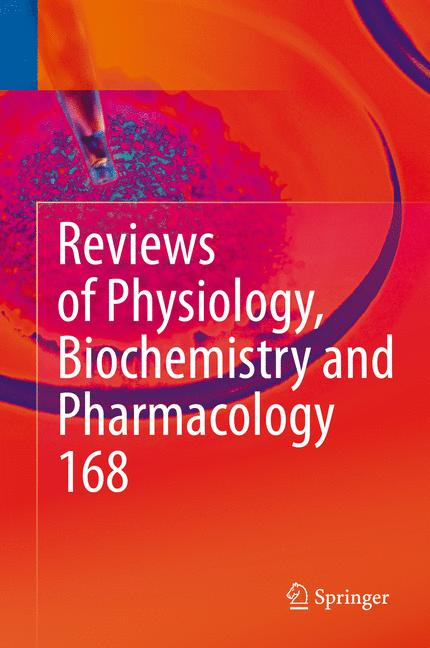 Cover of 'Reviews of Physiology, Biochemistry and Pharmacology'