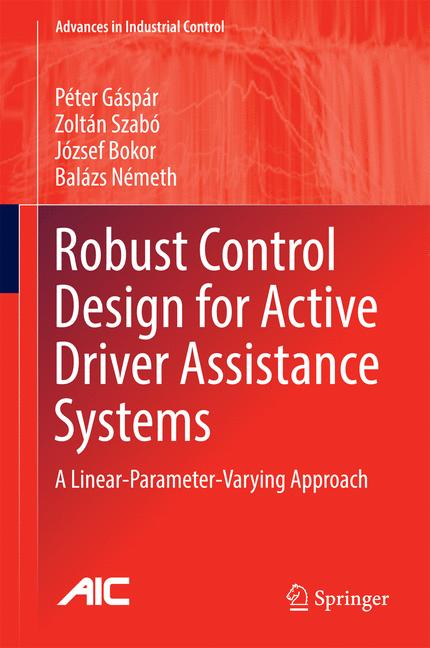 Cover of 'Robust Control Design for Active Driver Assistance Systems'