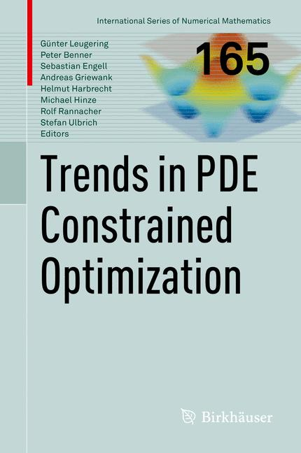 Cover of 'Trends in PDE Constrained Optimization'