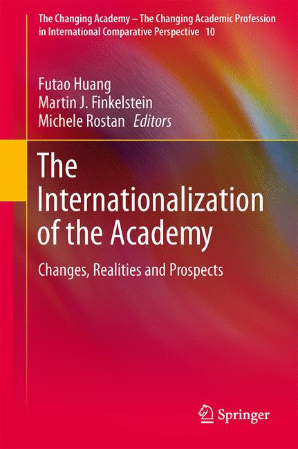 Cover of 'The Internationalization of the Academy'