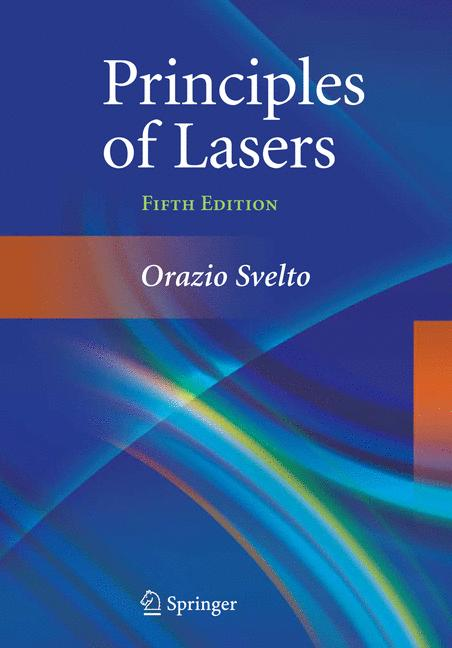 Cover of 'Principles of Lasers'