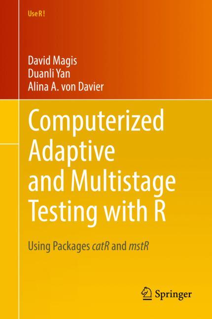 Cover of 'Computerized Adaptive and Multistage Testing with R'