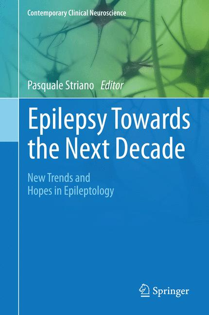 Cover of 'Epilepsy Towards the Next Decade'