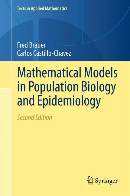 Cover of 'Mathematical Models in Population Biology and Epidemiology'