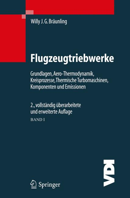 Cover of 'Flugzeugtriebwerke'