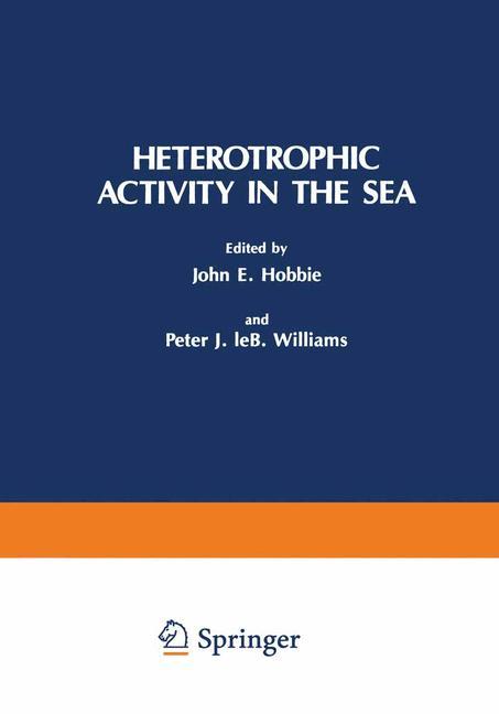 Cover of 'Heterotrophic Activity in the Sea'