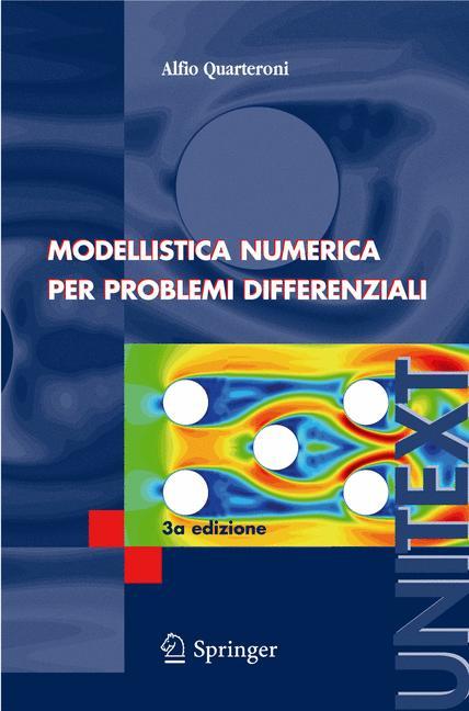 Cover of 'Modellistica numerica per problemi differenziali'