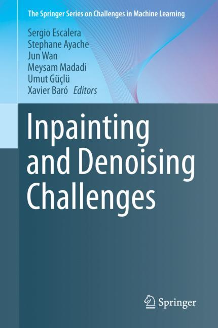 Cover of 'Inpainting and Denoising Challenges'