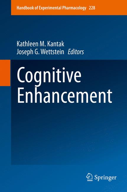 Cover of 'Cognitive Enhancement'