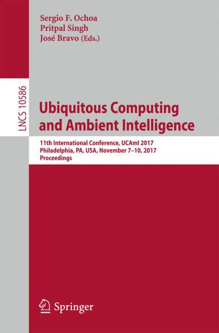 Cover of 'Ubiquitous Computing and Ambient Intelligence'