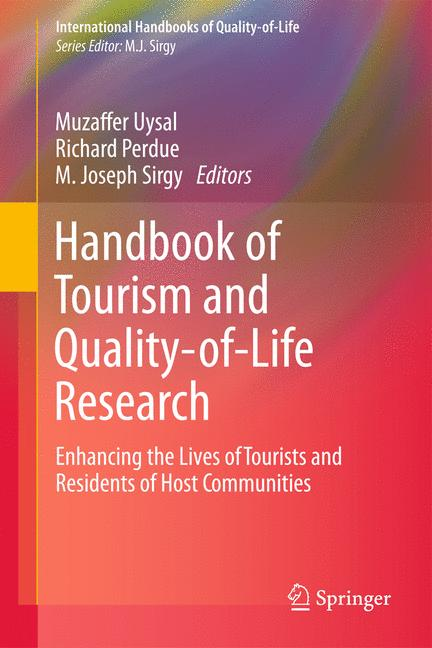 Cover of 'Handbook of Tourism and Quality-of-Life Research'