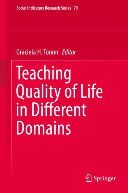 Cover of 'Teaching Quality of Life in Different Domains'