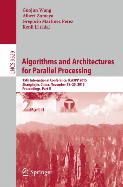 Cover of 'Algorithms and Architectures for Parallel Processing'