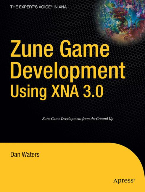 Cover of 'Zune Game Development Using XNA 3.0'