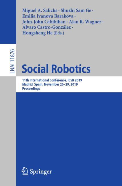 Cover of 'Social Robotics'