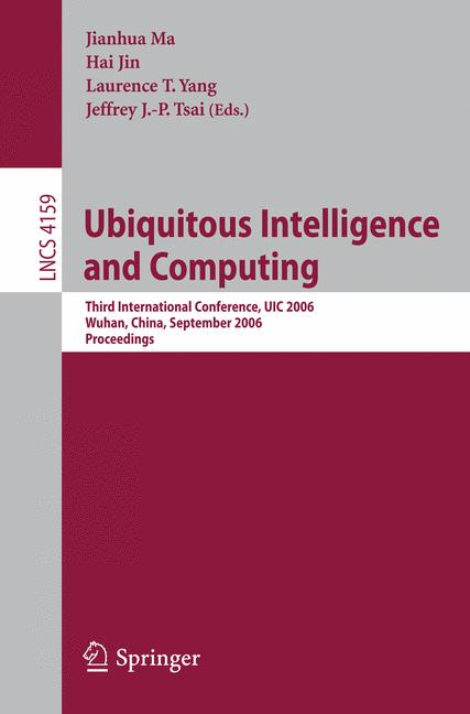 Cover of 'Ubiquitous Intelligence and Computing'