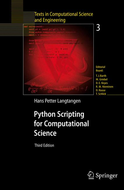 Cover of 'Python Scripting for Computational Science'