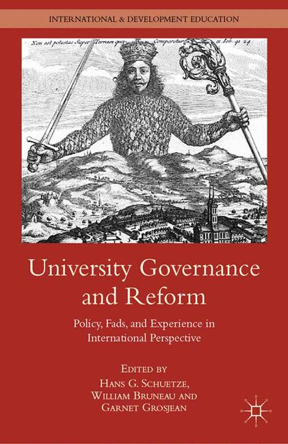 Cover of 'University governance and reform'