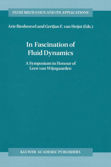 Cover of 'In Fascination of Fluid Dynamics'