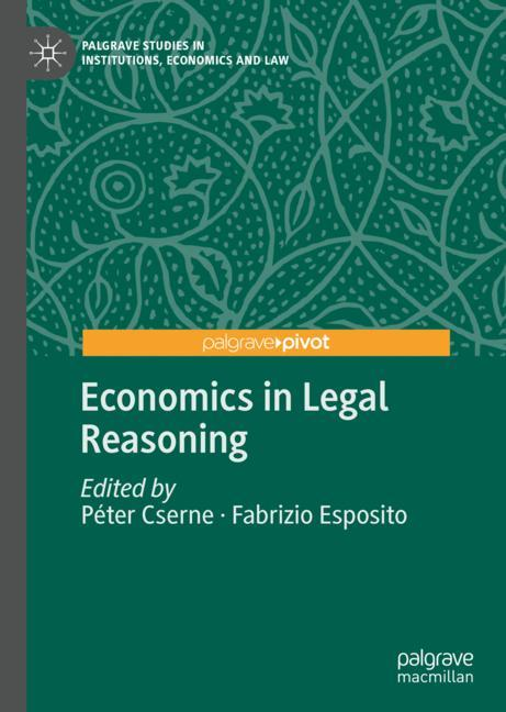 Cover of 'Economics in Legal Reasoning'
