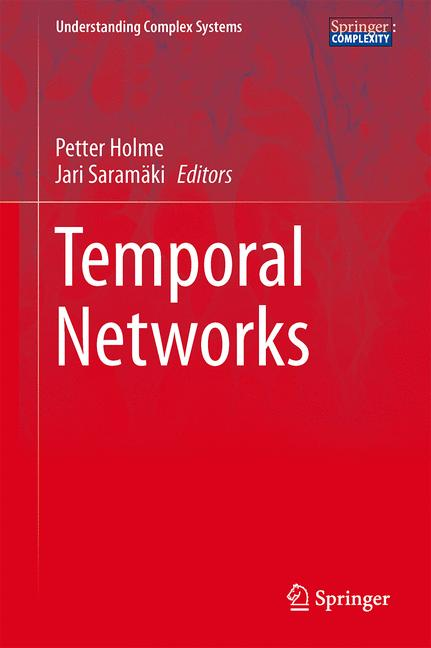 Cover of 'Temporal Networks'