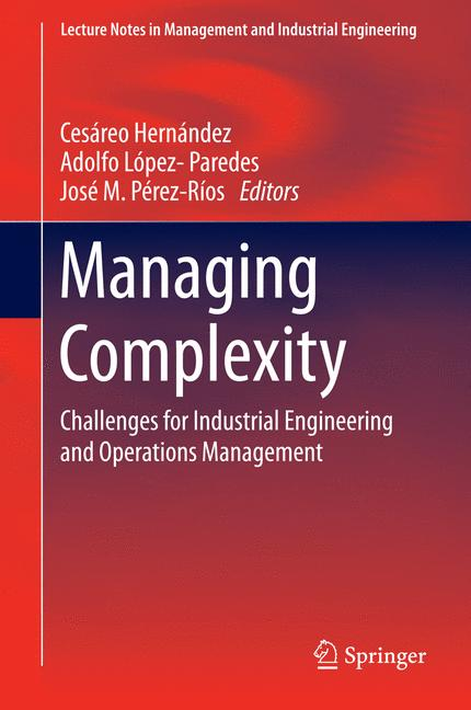 Cover of 'Managing Complexity'