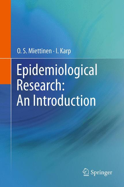Cover of 'Epidemiological Research: An Introduction'