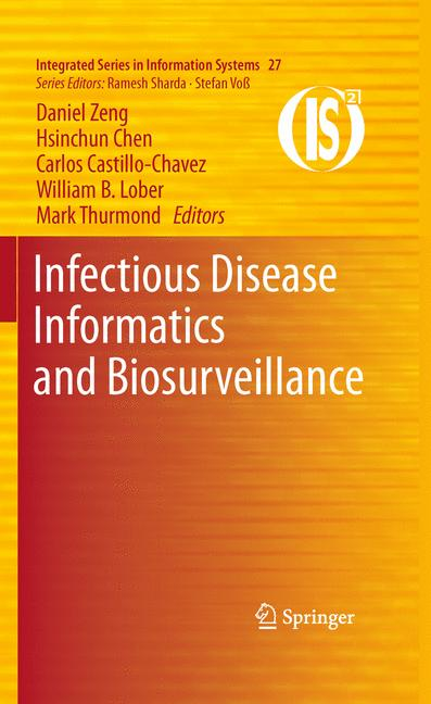 Cover of 'Infectious Disease Informatics and Biosurveillance'