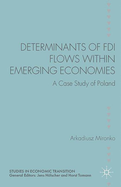Cover of 'Determinants of FDI Flows within Emerging Economies'