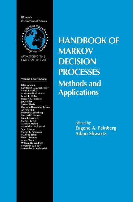 Cover of 'Handbook of Markov Decision Processes'
