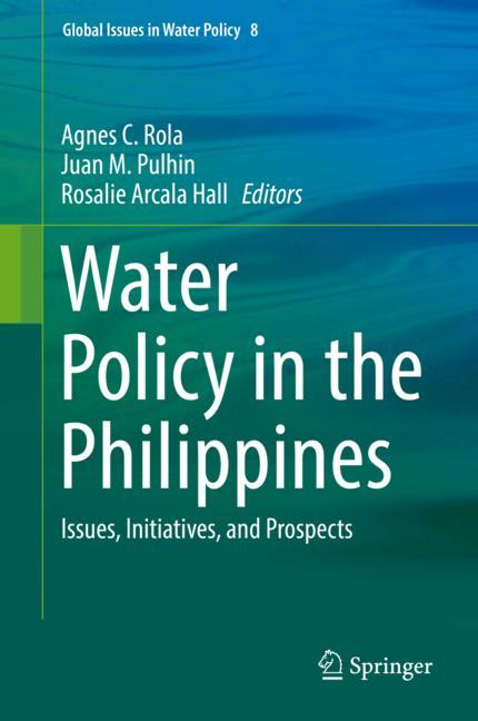 Cover of 'Water Policy in the Philippines'