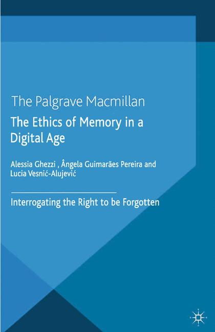 Cover of 'The Ethics of Memory in a Digital Age'