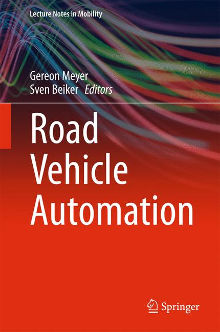 Cover of 'Road Vehicle Automation'
