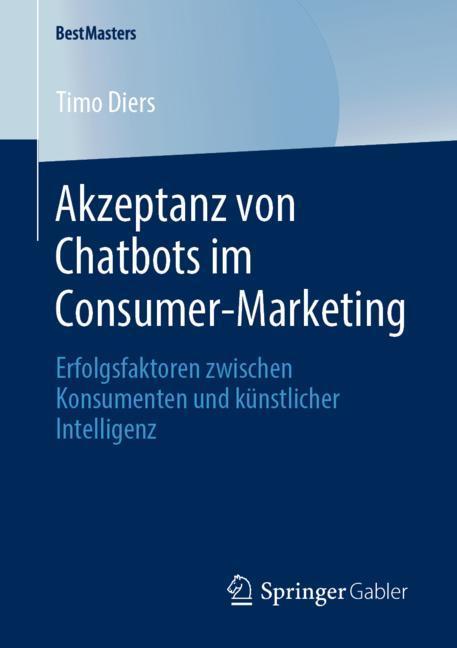 Cover of 'Akzeptanz von Chatbots im Consumer-Marketing'