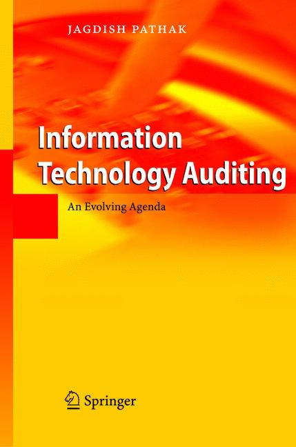 Cover of 'Information Technology Auditing'