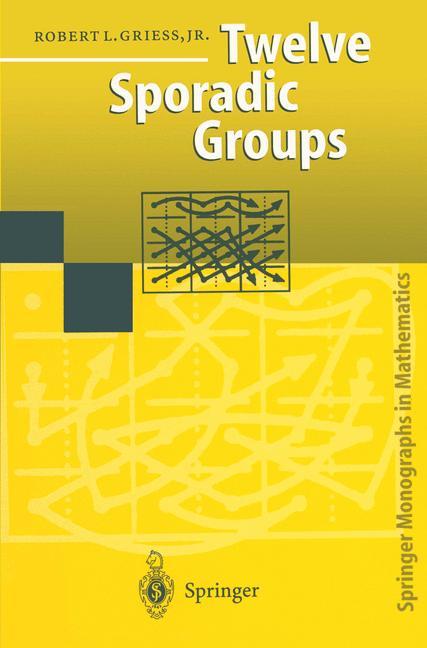 Cover of 'Twelve Sporadic Groups'