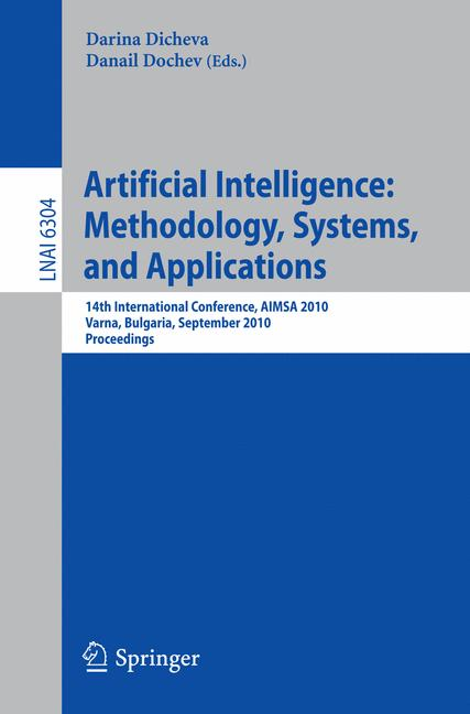 Cover of 'Artificial Intelligence: Methodology, Systems, and Applications'