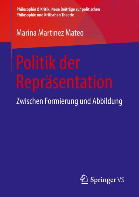Cover of 'Politik der Repräsentation'