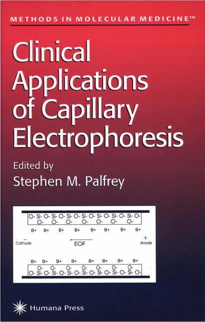Cover of 'Clinical Applications of Capillary Electrophoresis'