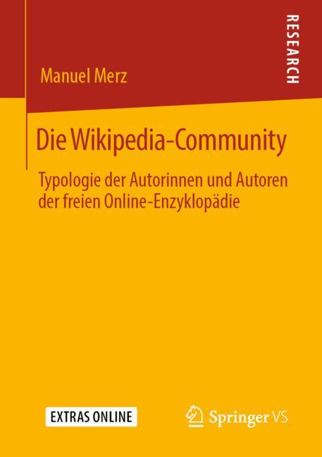 Cover of 'Die Wikipedia-Community'